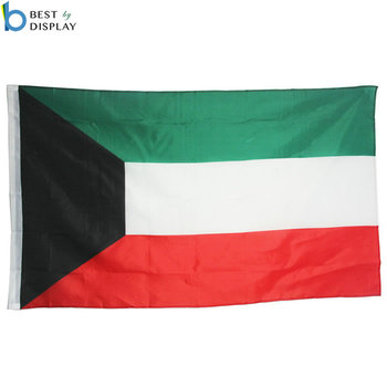 Custom Decorative Middle East Nation Kuwait Country Flag - Buy Cool