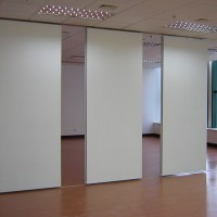 Used Office Wall Partition Made Of Pp Honeycomb Sandwich ...