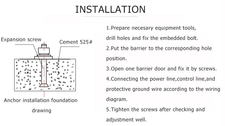 Ir Proximity Sensor Flap Turnstile Biometric Access Control - Buy