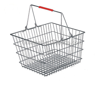 Wholesale Small Wire Mesh Metal Shopping Basket Buy Wire