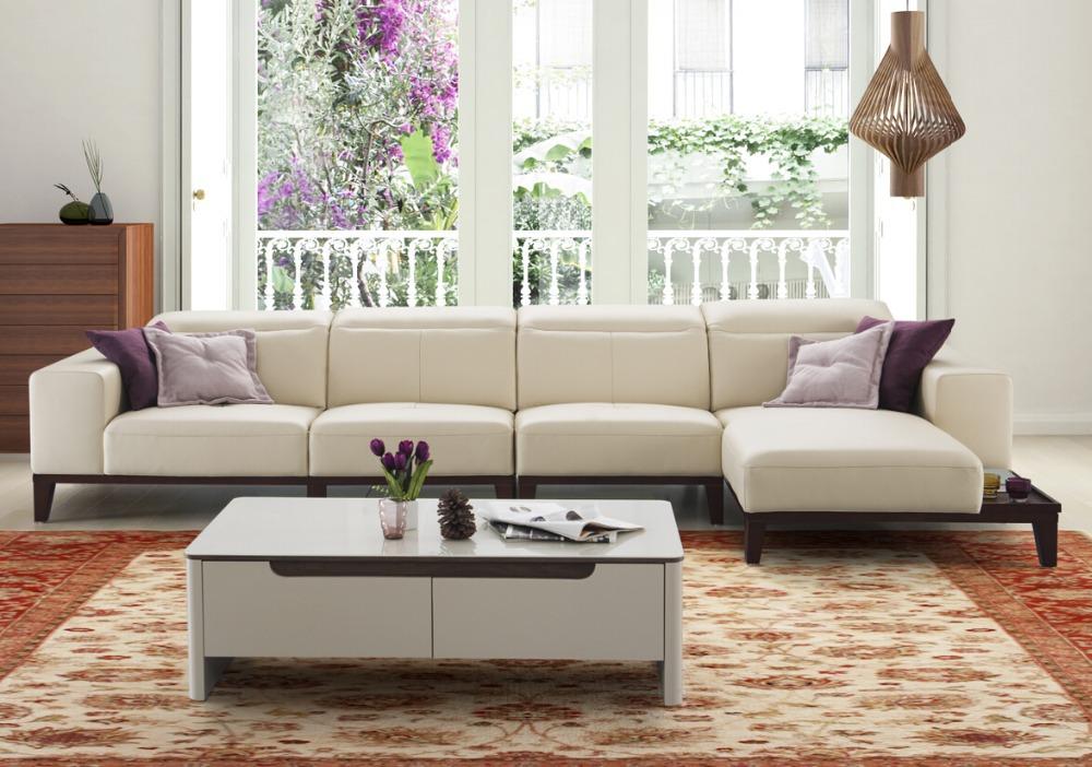 Modern Latest Living Room Wooden Sofa Sets Design Italian