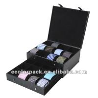 Permium Handcrafted Wooden Tie Storage Box For Bow Tie ...