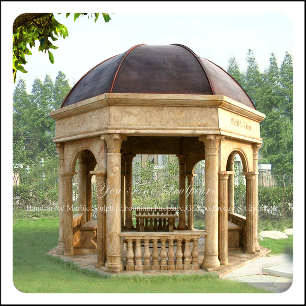 Metal Garden Gazebo Outdoor Marble Stone Garden Gazebo With Metal Roof Buy Stone Garden Gazebo Garden Marble Gazebo Outdoor Marble Gazebo Product On Alibaba