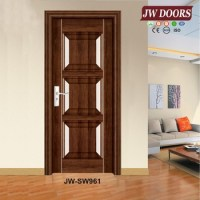 Latest Design Steel Wooden Door Interior Door Room Door