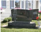 granite upright monument