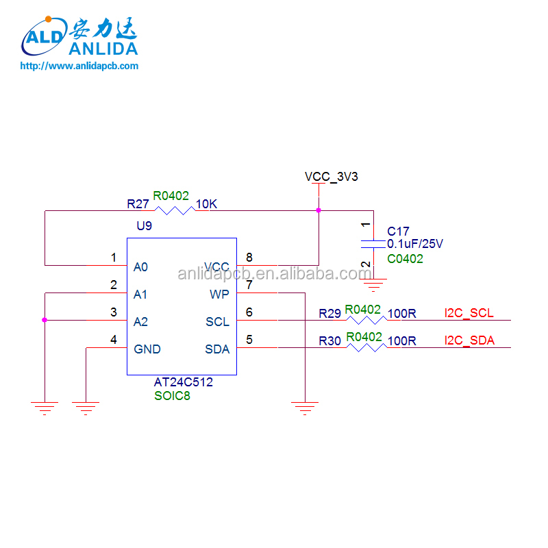 94v0 Electronic Pcb Schematic Design Layout Services Manufacturer
