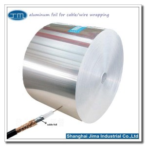 aluminum foil for cable wrapping wire wrapping