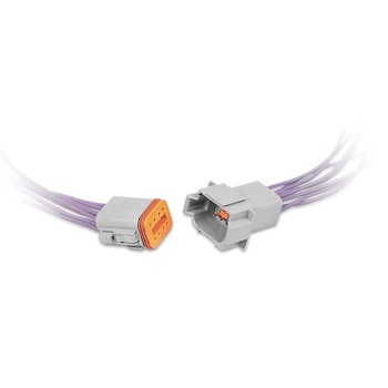 Dt06-6s 6 Way 6-pin Deutsch Connector Male To Female Wiring Harness