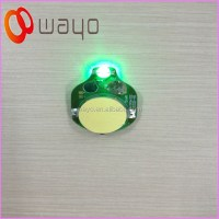 Single Green Color Small Led Blinking Lights/battery ...