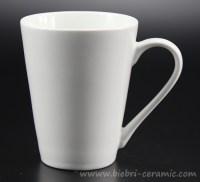 Plain White Custom Design Tea Coffee Ceramic Porcelain ...