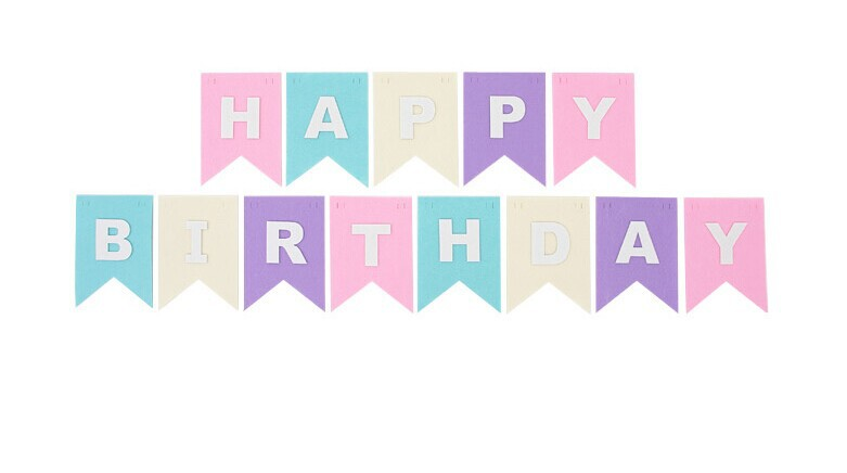 Happy Birthday Wall Banner IP39 \u2013 Advancedmassagebysara