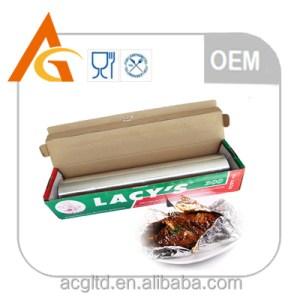 Food Tinfoil Kitchen Tin Foil Paper Food Packaging Aluminium Foil Paper