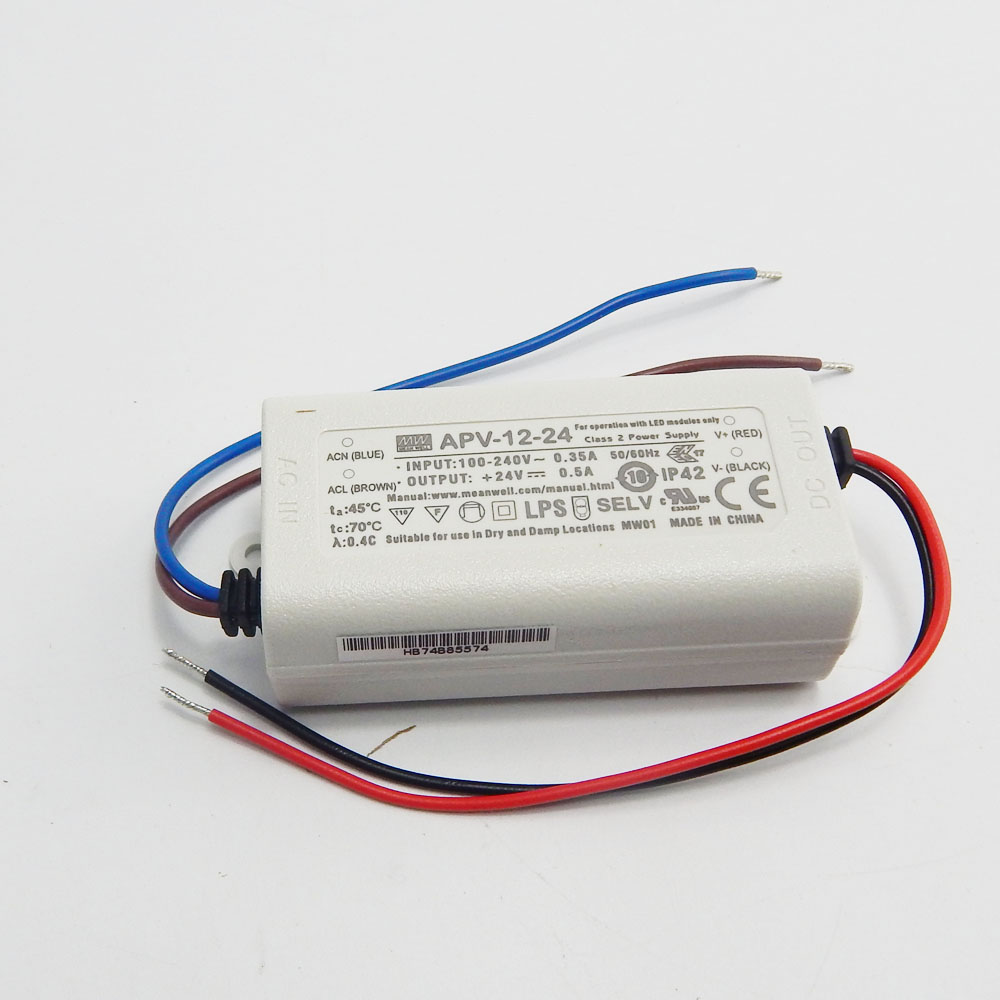 12v Ip67 Mean Well Lpv 20 12 Led Driver 20w 12v Ip67 Power Supply Waterproof