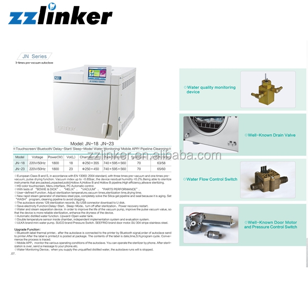 Lk-d16 Small Steam Diagram Of Autoclave Sterilizer Machine - Buy