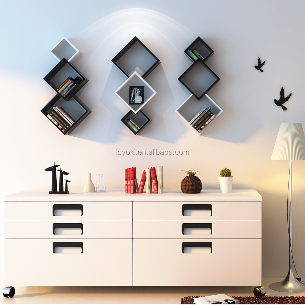 Wall Shelf Design 2017 New Design Three Cross Wall Shelf Wall Display Eco Friendly Home Decor Mdf Wooden Cube Wall Shelf Buy Cube Wall Shelf Wall Shelf Wooden Cube