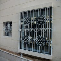 House Decor European Common Design Wrought Iron Window ...