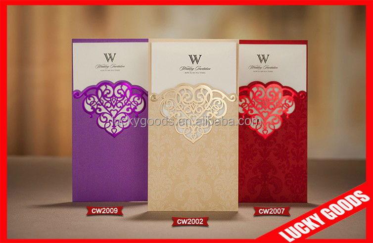 Cheap New Style Wedding Invitation Cards Models Buy