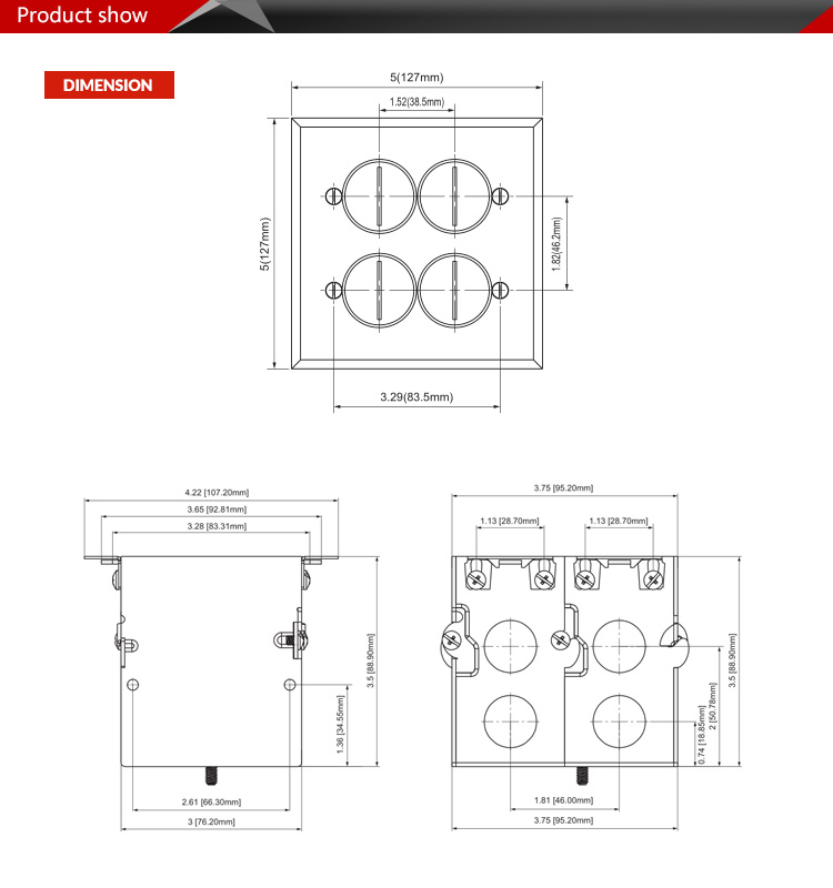 recessed electrical box