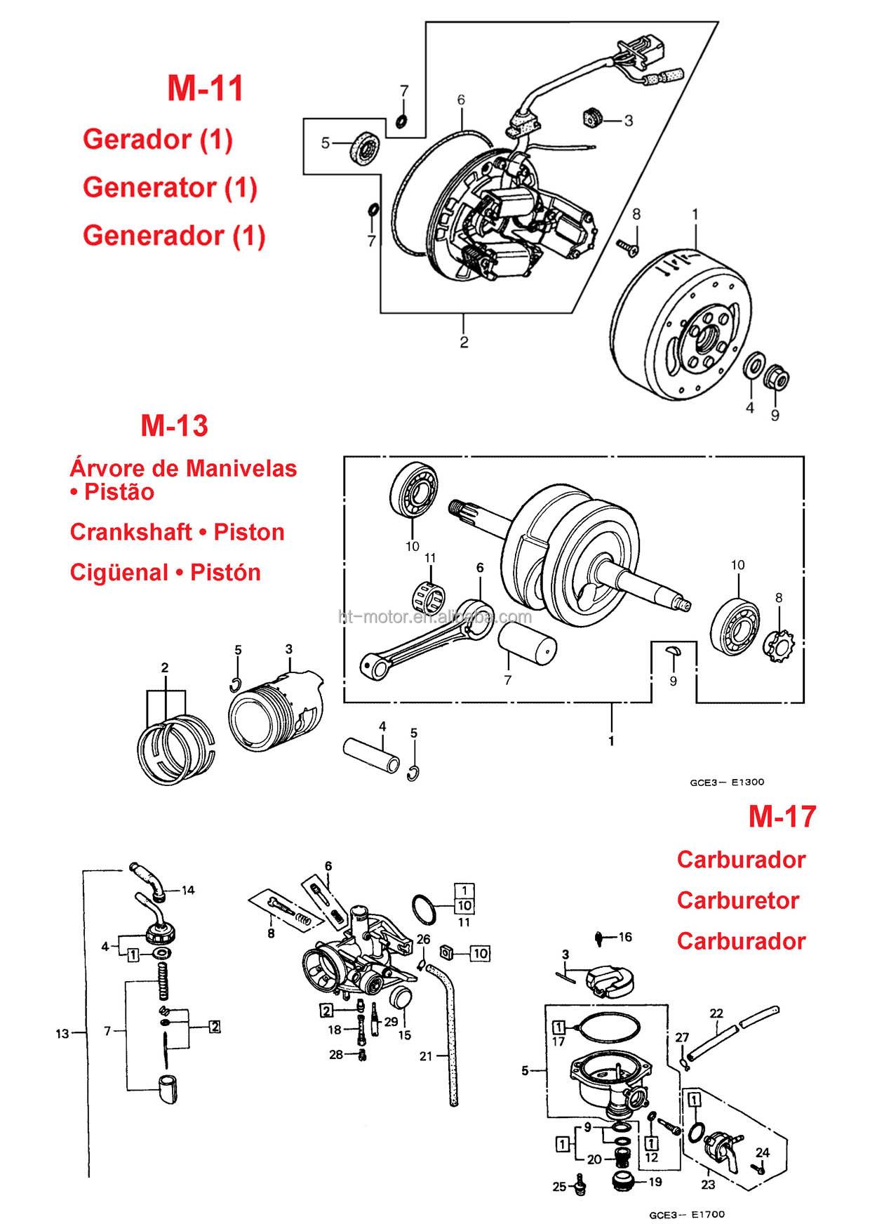 bajaj motorcycle wiring diagram