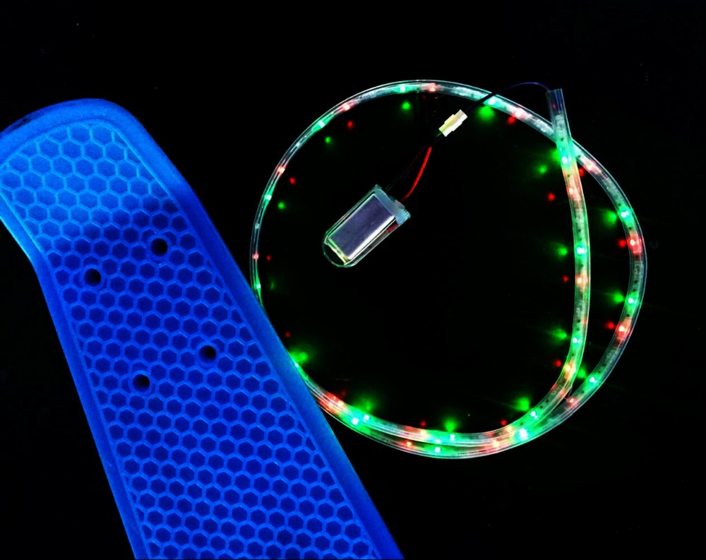 Led Light Strips Rgb Sport Decoration Rgb Waterproof Funboard Longboard Rgb Flexible Skateboard Led Light Strip Buy Longboard Led Strip Funboard Led Strip Skateboard Led