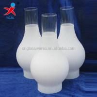 Glass Hurricane Chimneys Kerosene Oil Lamp Covers - Buy ...