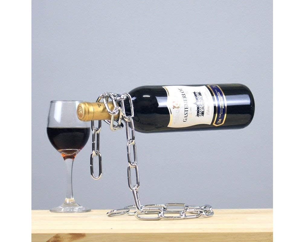 Wine Holder Stand Cheap Magic Floating Wine Bottle Holder Find Magic Floating Wine