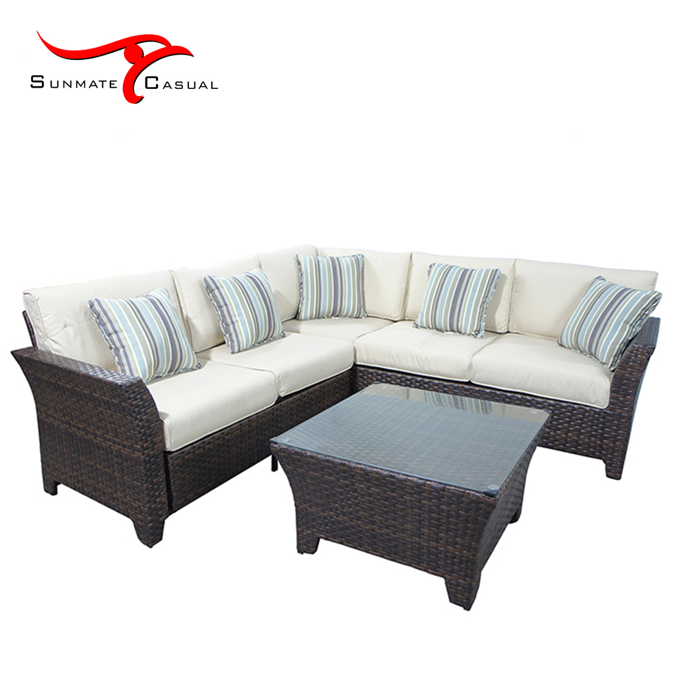 Cheap L Shaped Rattan Sofa Leisure Rattan Sectional Corner Sofa Set Garden Furniture Buy L Shaped Sofa Set Sectional Sofa Set Rattan Corner Sofa With Table Product On