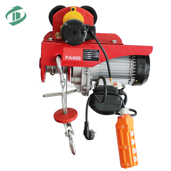 Ac Motor Pa500 Pa600 110/220v Electric Wire Rope Hoist With Double