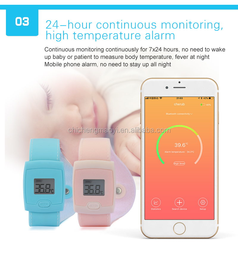 Kids Smart Medical Bluetooth Android Smart Thermometer With App Thermometer  For Fever Best Baby Thermometer - Buy Best Baby Thermometer,Bluetooth