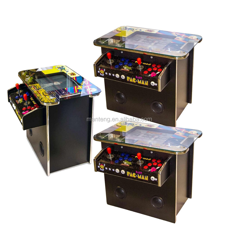 Classic Table Arcade Games Arcade Classics Cocktail Table Arcade Machine With Trackballs Buy Multi Game Cocktail Table Cocktail Table Arcade Game Machine Product On