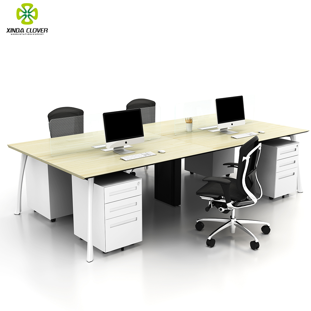 Workstation Furniture Customized Modern Office Furniture 4 Person Workstation Buy 4 Person Office Workstation Modern Office Furniture Furniture Office Product On