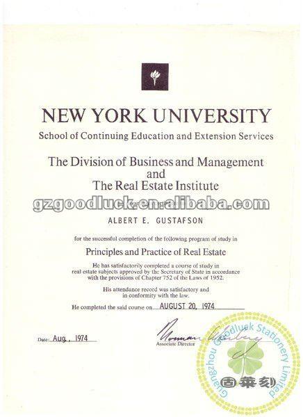 Diploma Certificate/university Certificate Paper/custom Embosser - Graduation Certificate Paper