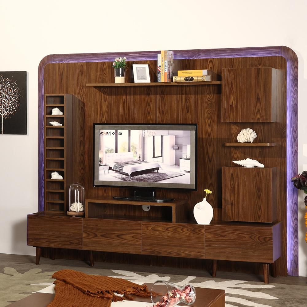 Meuble Tv Living Home Furniture Living Room Meuble Tv Design Wall Unit Cabinet Led Tv Wall Unit Designs Buy Meuble Tv Design Led Tv Wall Unit Designs Wall Unit