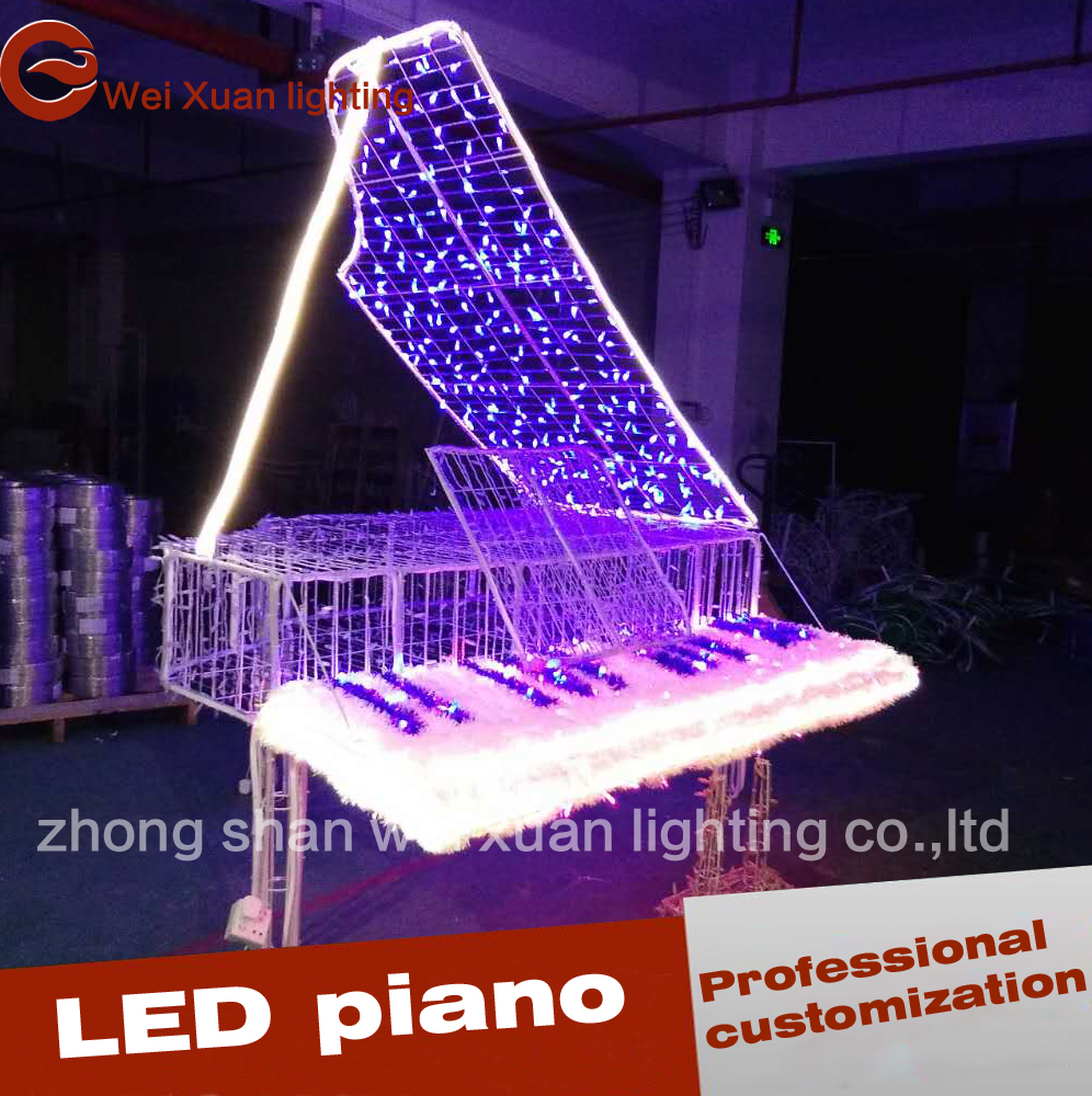 Led Gartenbeleuchtung Weihnachten Led Piano Modeling Lamp Romantic Decorative Christmas Lights Buy Christmas Lights Product On Alibaba