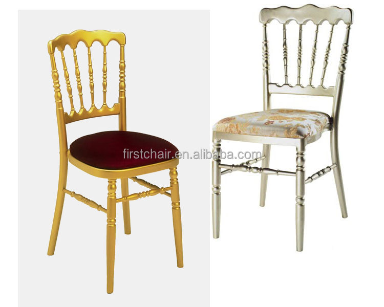 Fashionable Banquet Gold Napoleon Chiavari Chairs With
