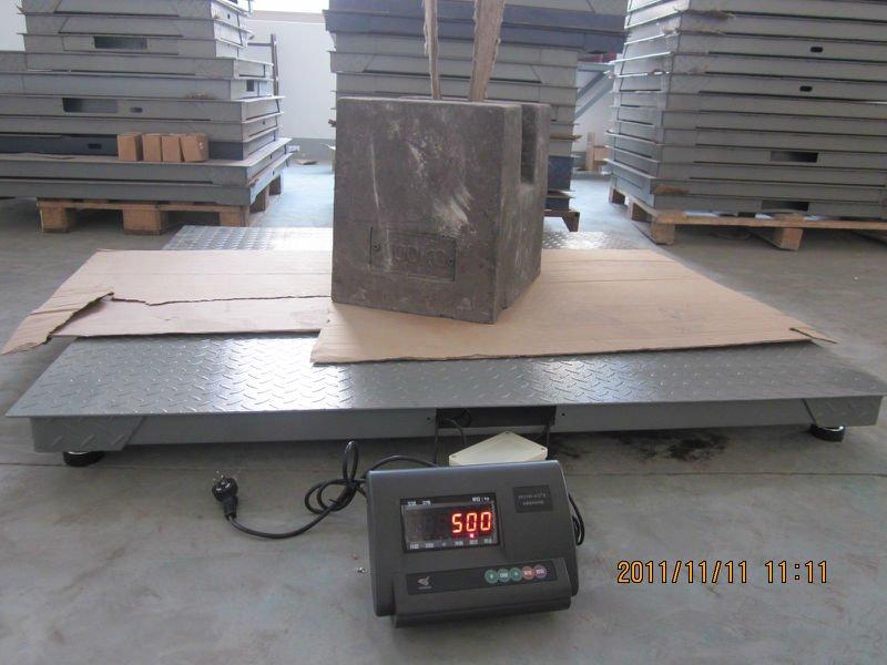 Yubo Electronic Floor Weighing Scale 1 Ton 2 Ton 3 Ton 5