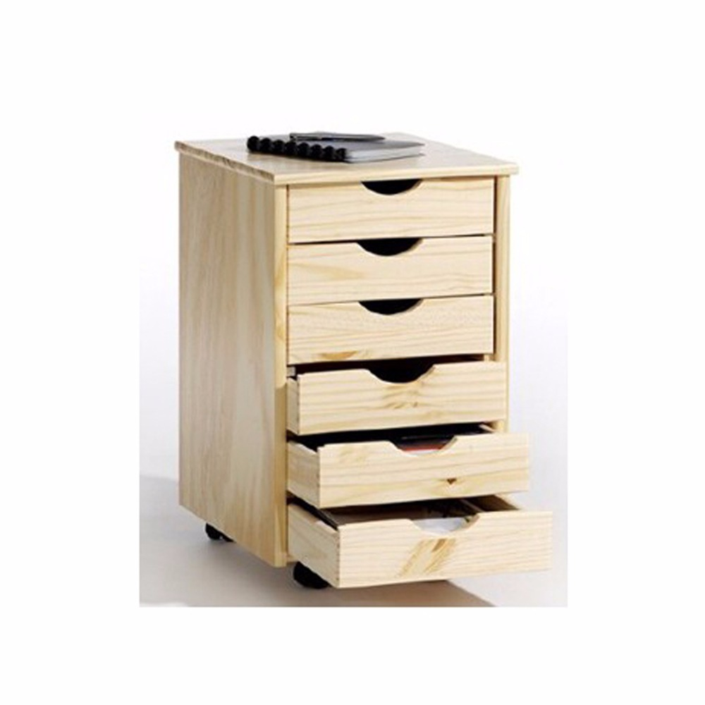 Solid Wood File Cabinet Solid Wood Pine Wood Files Cabinet With 6 Drawers For Office Furniture Buy File Cabinet 5 Solid Wood Files Cabinet Solid Wood Files Cabinet With