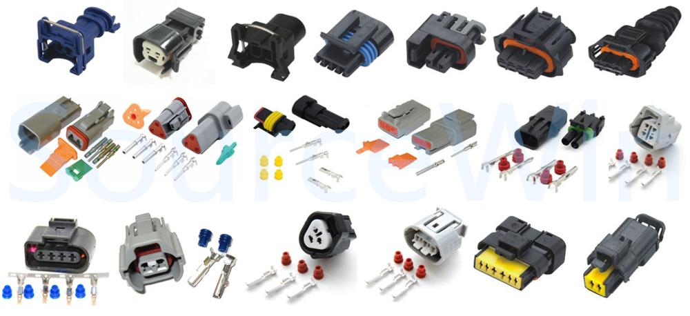 Obd1 Gm Fuel Injector Wiring Harness Plug Clips Ev1 Pigtail
