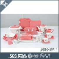 Dishwasher Safe Pink Fine Porcelain Dinnerware Beautiful ...