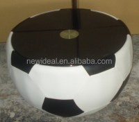 Football Shape Coffee Table/low Hight Glass Coffe Table ...