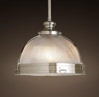 New Clemson Prismatic Single Glass Pendant Light For Hotel ...