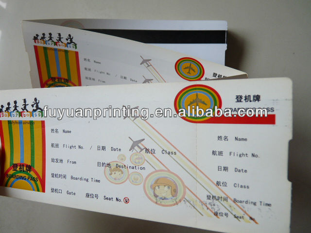 Airline Ticket Printing Wholesale, Airline Ticket Suppliers - Alibaba - printable ticket paper