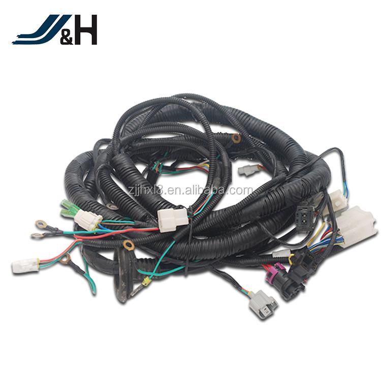 Customized OEM ODM toyota auto parts electronic ecm wiring harness