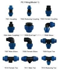 Agricultural Irrigation Hdpe Pipe Fittings Coupling - Buy ...