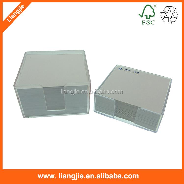 Wooden Box 2c Print Loose Leaf Paper,Paper Pad,Paper Memo Pad - Buy