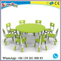 Daycare Center Furniture Kids Cabinet Kid Table Chair ...