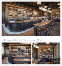 Customized Coffee Shop Furniture With Coffee Shop Counters ...