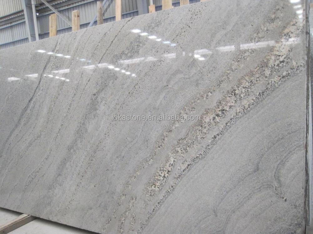 Nature White Silk Granite Slab In High Quality View