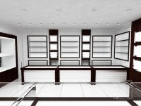 High End Modern Wood Wall Showcase Designs For Jewelry ...