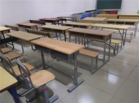 Attached Student Desk Chair / Classroom Furniture For Sale ...